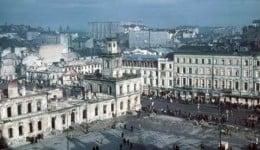 Bombardowanie Warszawy przez Niemców w 1939 roku